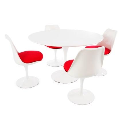 tulip tisch saarinen mit 4 stuehlen 20150416214724 buchwalder linder designm bel in luzern und. Black Bedroom Furniture Sets. Home Design Ideas