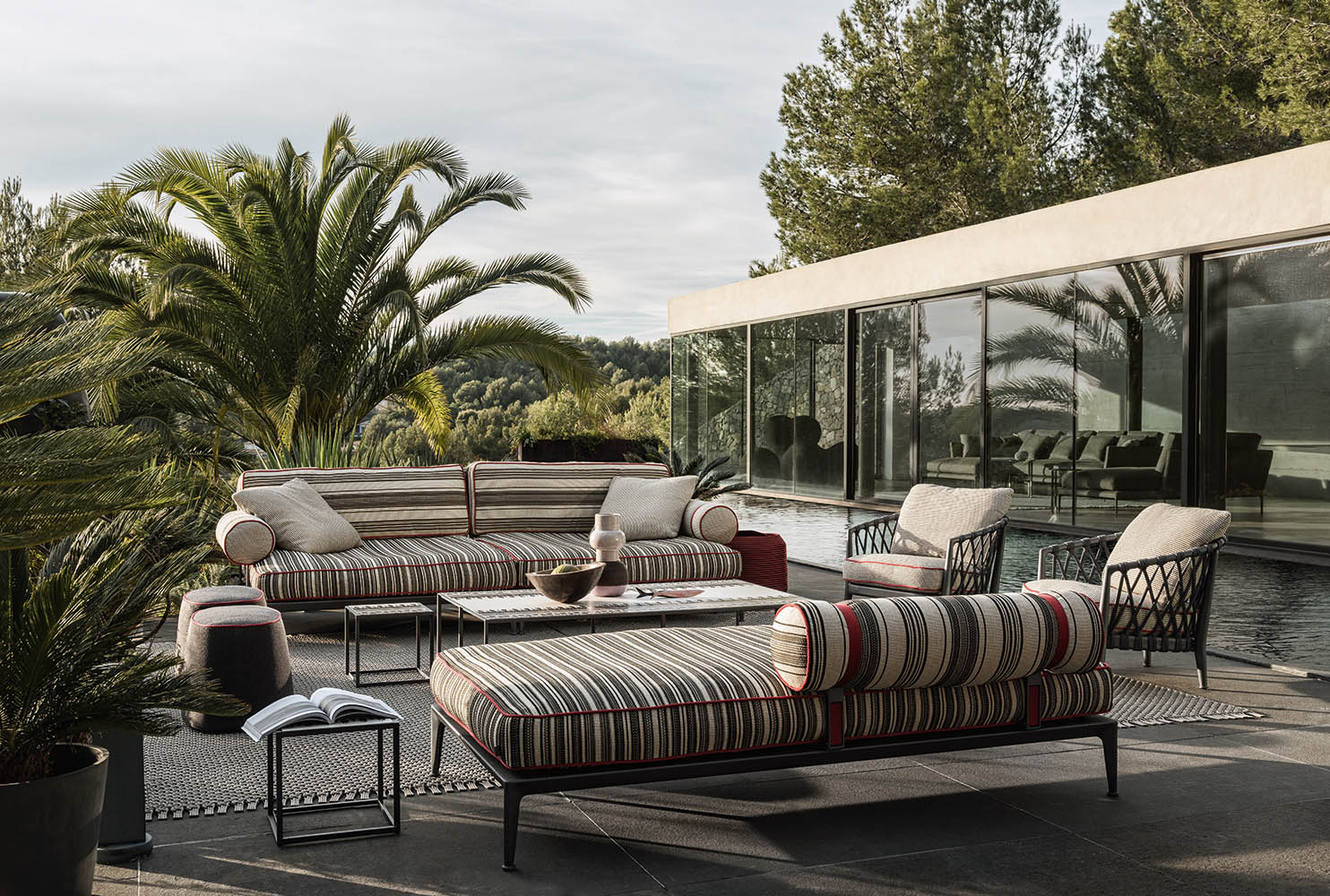 outdoor lounge B&B italia buchwalder-linder luzern design
