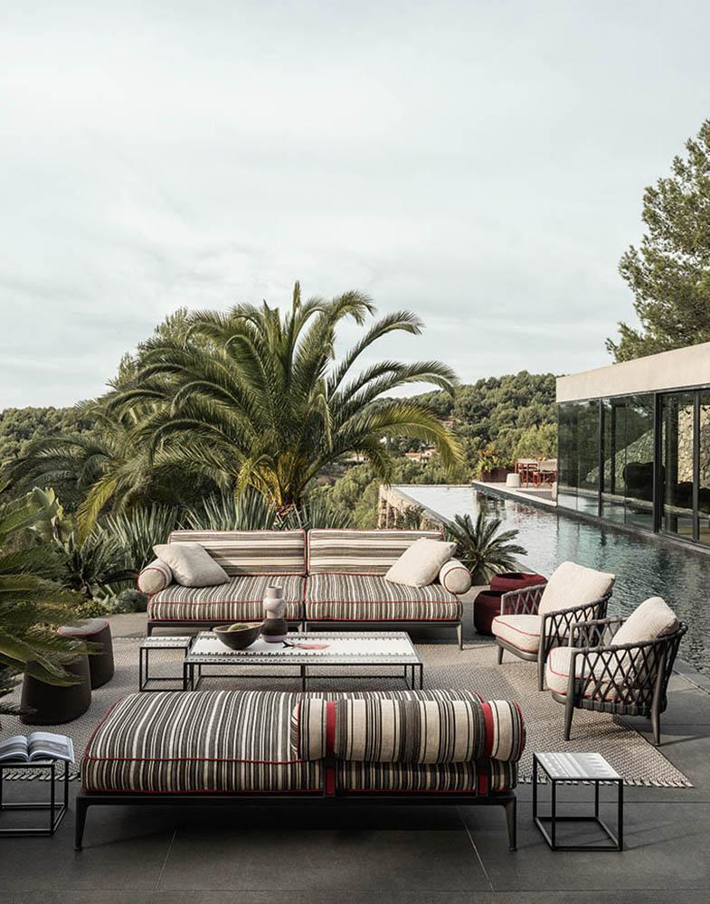 outdoor lounge B&B italia buchwalder-linder luzern2